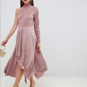 NWT ASOS one sleeve dress